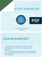 1. Intro. a Javascript