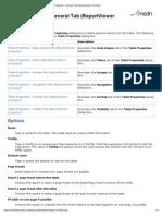 Table Properties - General Tab (ReportViewer Controls)