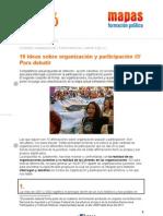 J2016 Ficha 7 - 10 Ideas sobre organización y participación /// Para debatir