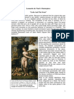 """Leda And The Swan"", Leonardo da Vinci's Masterpice by Ton Pascal"