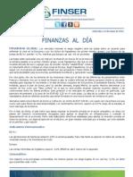Finanzas al Día 23.05.12