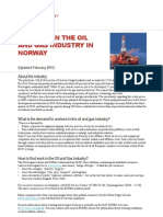 Working in the Oil and Gas Industry in Norway