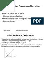 3-PersNonLin(IterasiNRSecant)