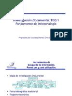 Taller 1 TEG 1 Infotecnologia_Marzo2011
