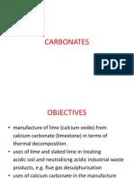 Carbonates