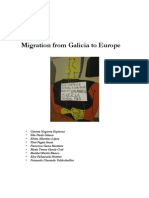 Migration From Galicia to Europe