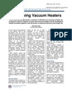 Revamping Vacuum Heaters