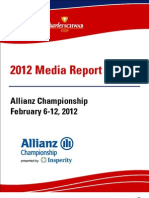 2012 Tournament Report - Allianz Championship Media Only