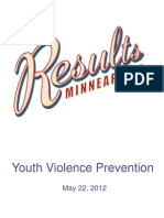 City report on Youth Violence
