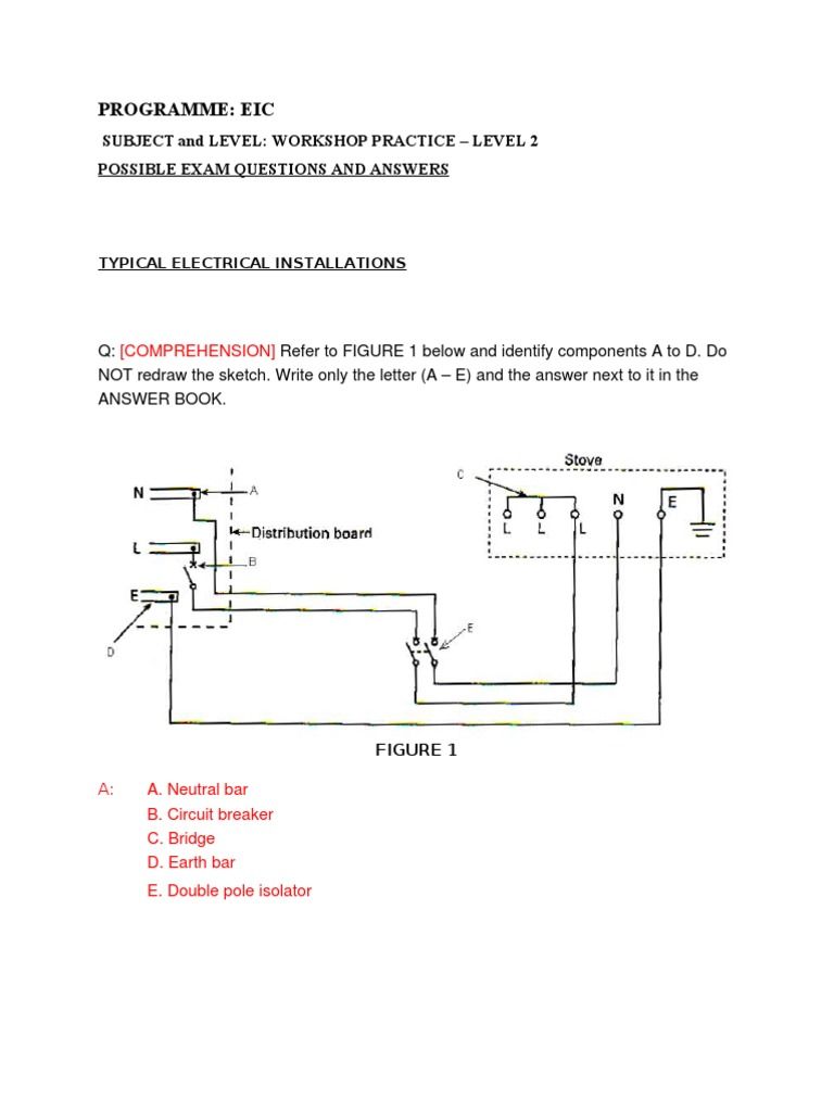 Qas L4 Series And Parallel Circuits Inductor Circuit Diagram Test Questions
