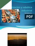 Automatización y robótica industrial Introducción
