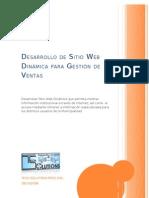 Desarrollo de Sitio Web Gestion de Ventas