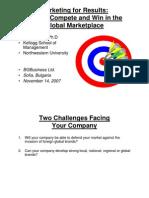 PhilipKotler Sofia Lecture 11-14-07