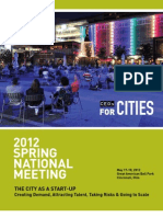 CEOs for Cities 2012 Spring National Meeting Program
