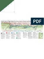 Map Grand Canyon South Rim