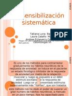 Desensibilización sistemática