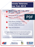 Veterans Job Fair 2012
