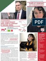Tract Gaëlle Lenfant Le Changement