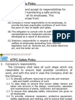4. NTPC Safety Policy