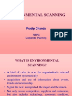Environmental Scanning in Ntpc