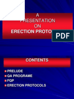 Erection Protocols
