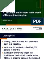 2012 Nonprofit Audit Update
