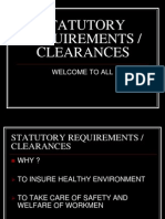 Statutory Clearances