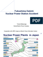 The Fukushima DaiichiTomomi MatsunagaKansai Electric Power Company Cooperation With JEPIC (Japan an Electric Power Information Center)
