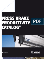 Wila USA Press Brake Productivity Catalog 2010