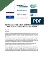Joint Farm Bill Letter Senate May23