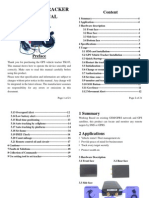 TK103 GPS Vehicle Tracker User Manual_doc