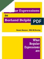 Using Regular Expressions in Borland Delphi - RM_20040302