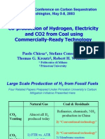 Hydrogen Production From Coal