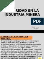 Seguridad en La Industria Minera