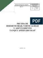 PTS PRUEBA HERMETICIDAD