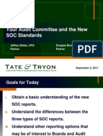 The Audit Committee and SOC Standards