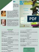 25 Feria del libro en MOGADOURO, Trás-os-montes . PORTUGAL