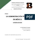 ENSAYO Administración Pública