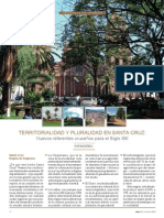 Territorialidad y Pluralidad  en Santa Cruz