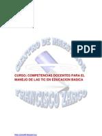 Curso Manejo de Las TICs en Ed. Basica-ROSSY