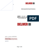 OBIEE 11.1.1.6 Linux X86 64Bit Redhat Installation Document