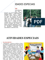 ATIVIDADES ESPECIAIS COSMO
