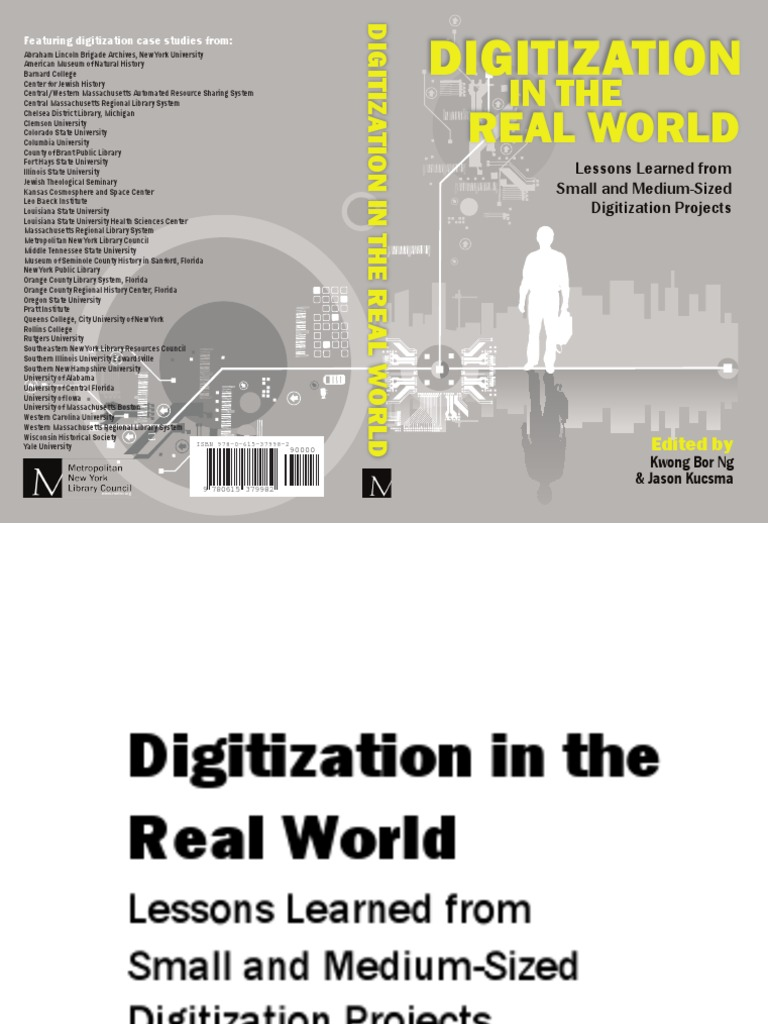 digitization in the real world lessons learned from small and