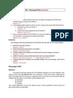 TD Adressage IP Correction