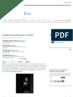 10 Applications Gratuites Pour Votre iPad