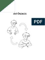 ANTÔNIMOS - Libras