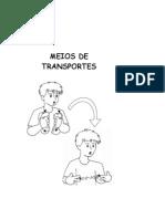 MEIOS DE TRANSPORTES - Libras