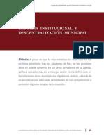 Descentralizacion Municipal