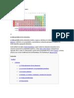 Tabla periódica de los elementos ivan