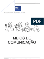Apostila Meios de comunicação - LIBRAS